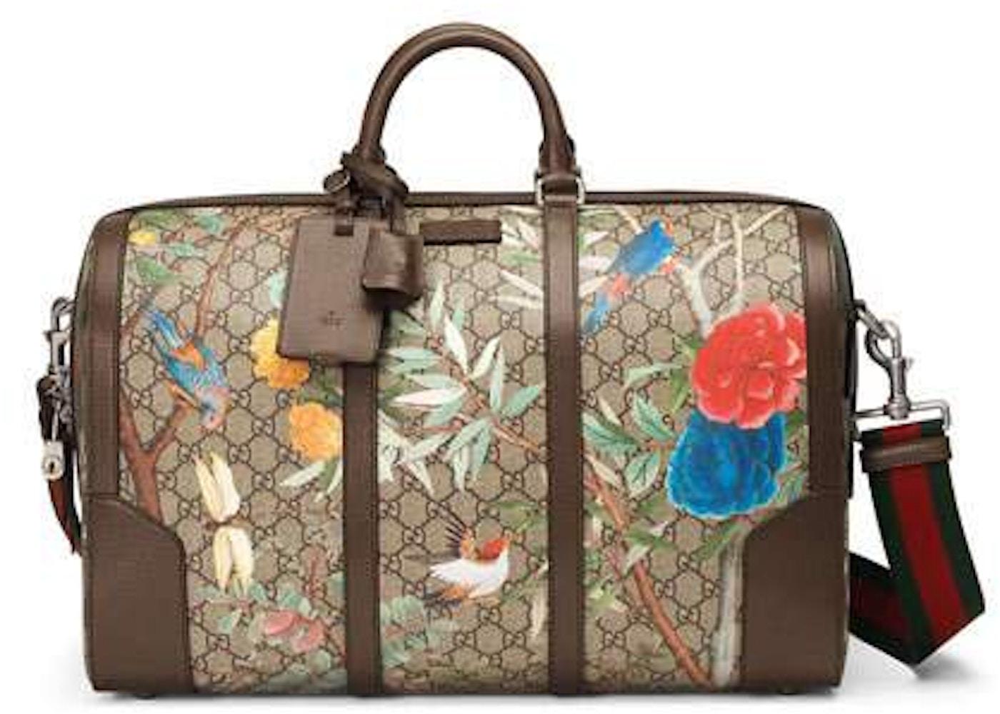 Gucci Duffle Bag Supreme Tian Gg Large