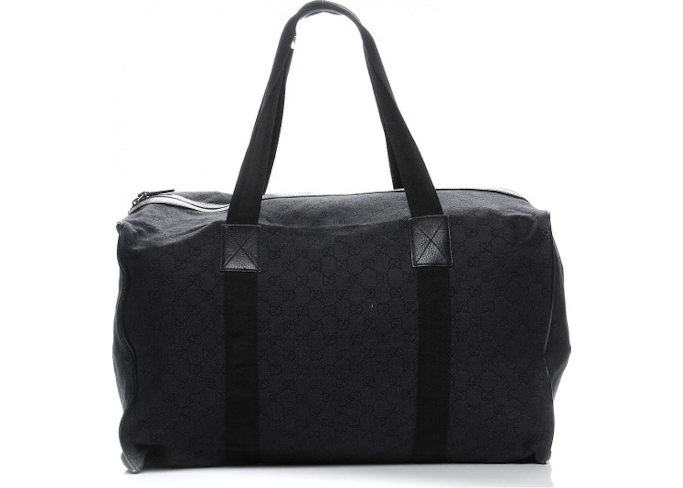 92fbe10b7761 Gucci Carry On Duffle Bag Monogram GG Large Black. Monogram GG Large Black