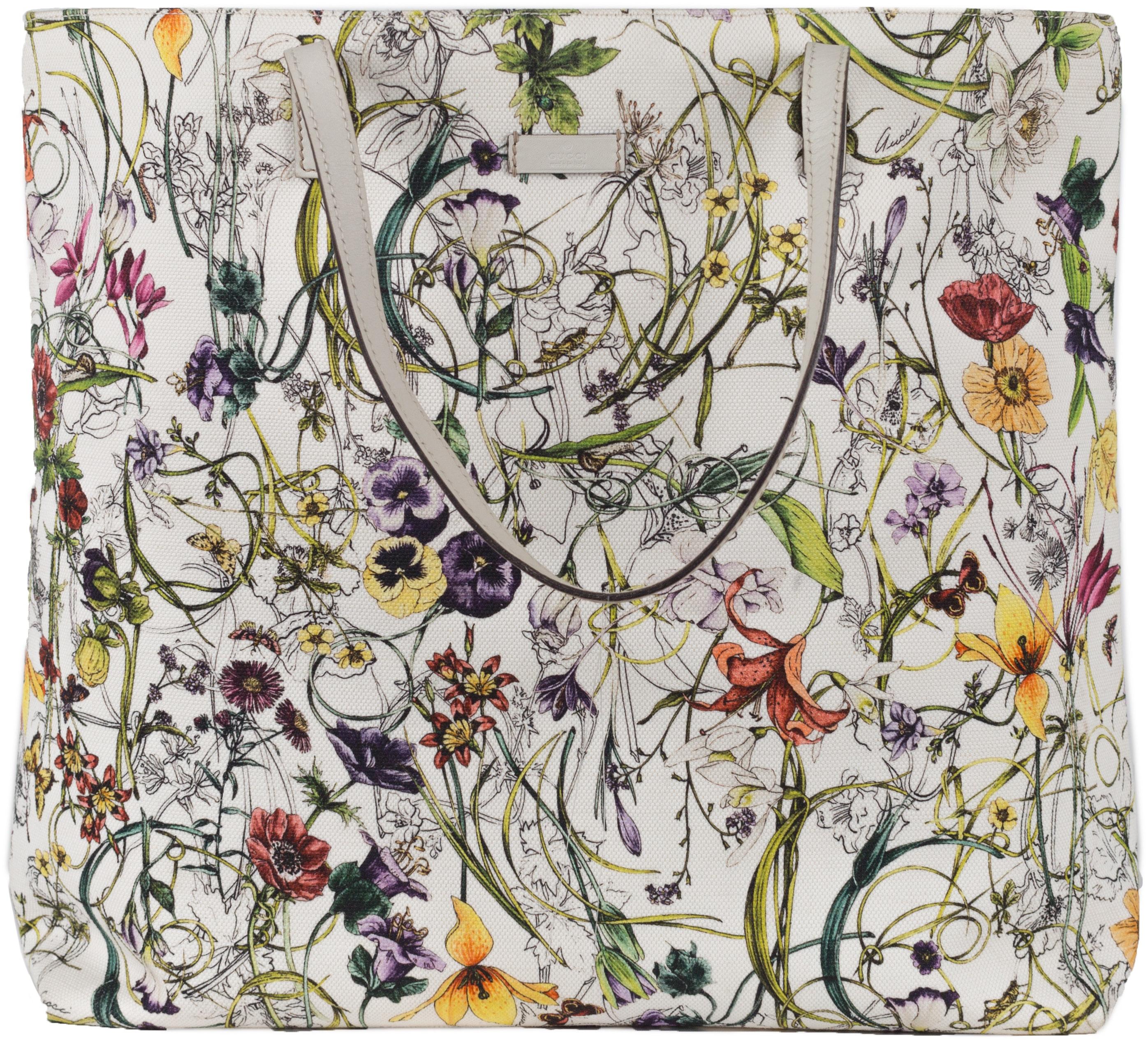 Gucci Flora Tote Large Multicolor