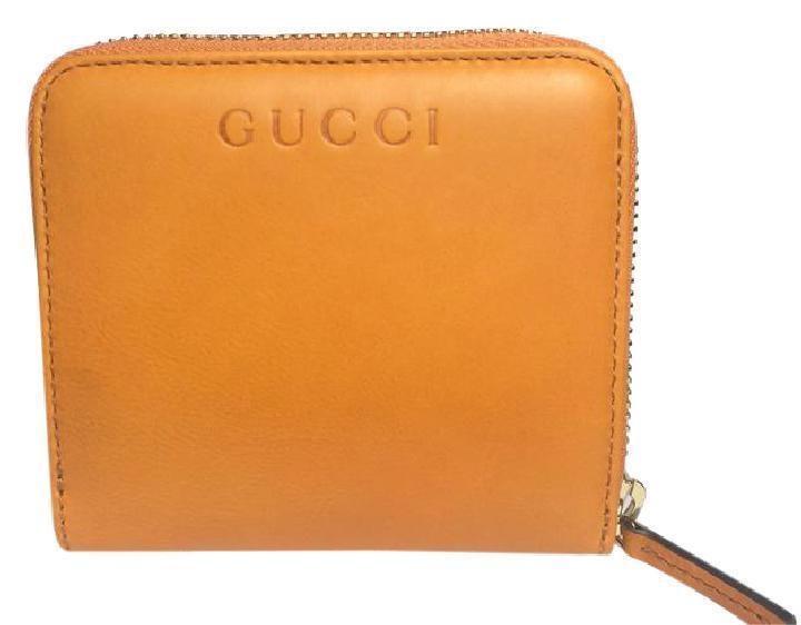 Gucci French Flap Wallet Marigold Orange