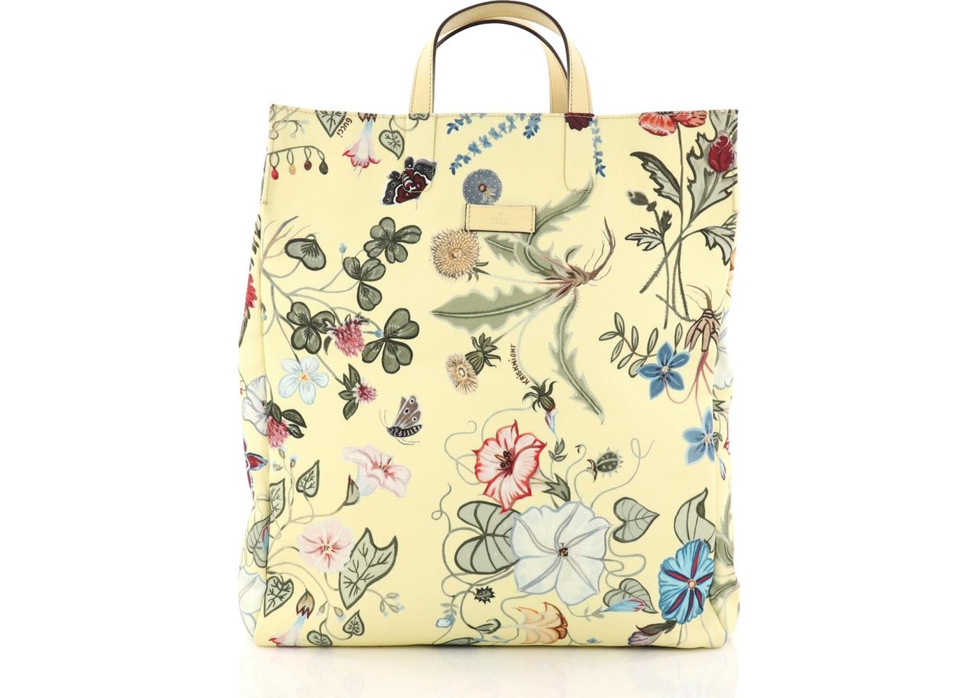 1cdf3e187 Gucci G-Active Knight Tote Flora Tall Yellow. Flora Tall Yellow