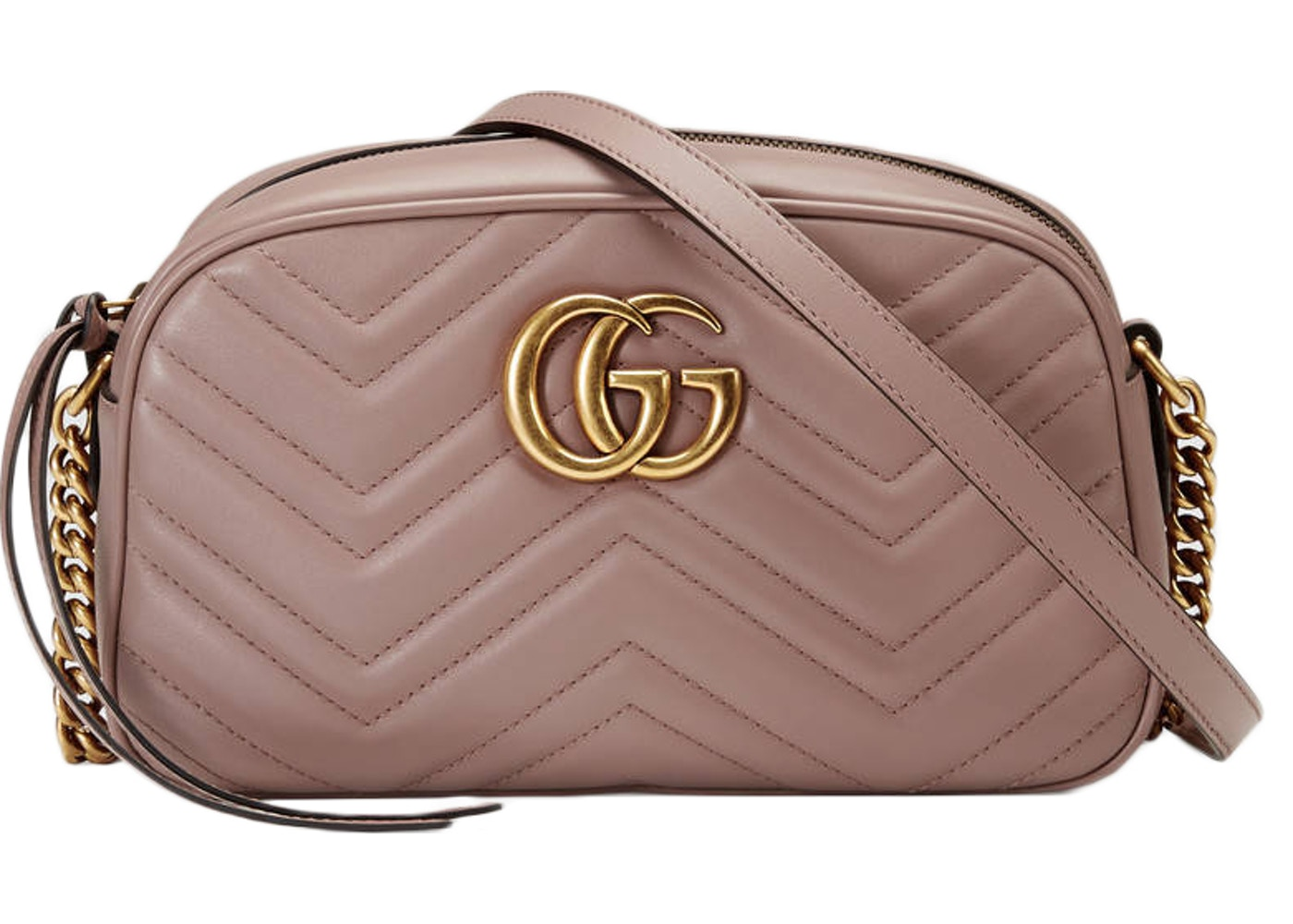 792d84c058eec Gucci GG Marmont Shoulder Camera Small Nude. Small Nude