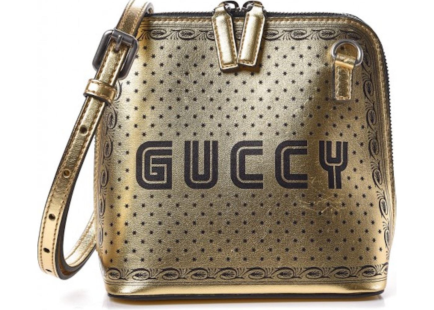 b2298f08feab Gucci Guccy Top Zip Shoulder Bag Mini Gold. Mini Gold