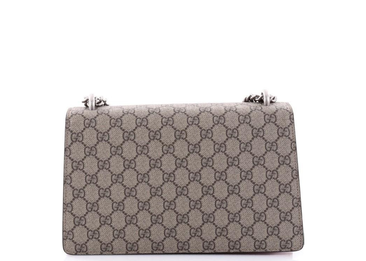 da2d71b396e Sell. or Ask. View All Bids. Gucci Dionysus Handbag Monogram GG Small Taupe/ Red
