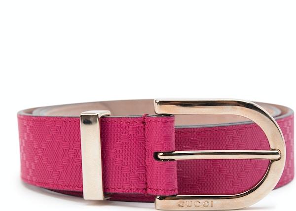 29c0ac5e206 Gucci Hilary Lux Belt Dimante Pink