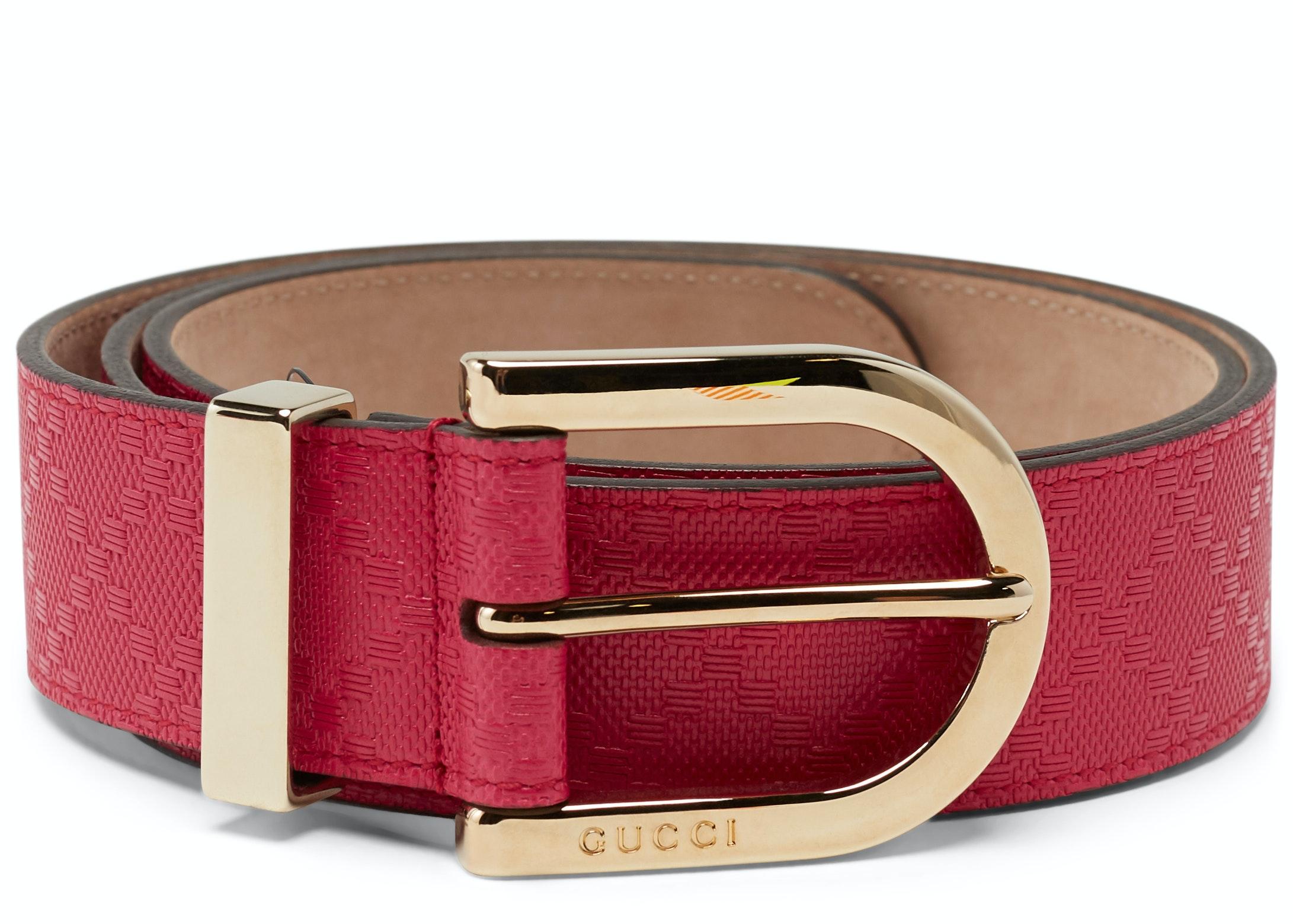 Gucci Hilary Lux Belt Dimante Pink