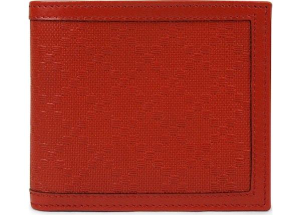 6d74040da3c8 Gucci Hillary Lux Bifold Wallet Diamante Red