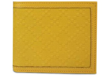 Gucci Hillary Lux Bifold Wallet Diamante Yellow