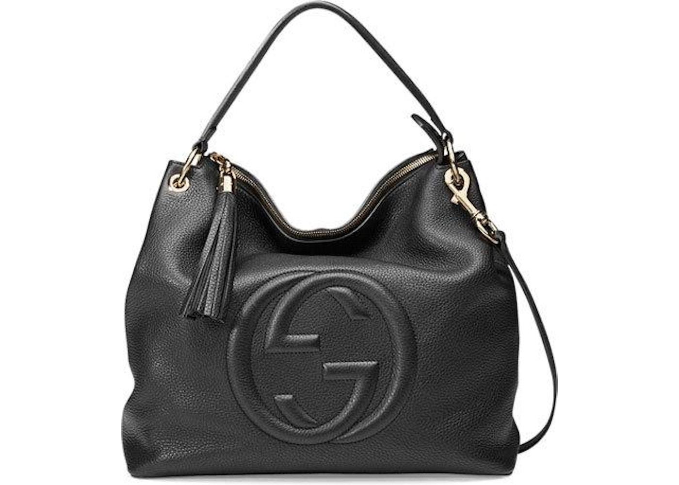 Gucci Hobo Bag Soho Large Black 8e8cdacc72700