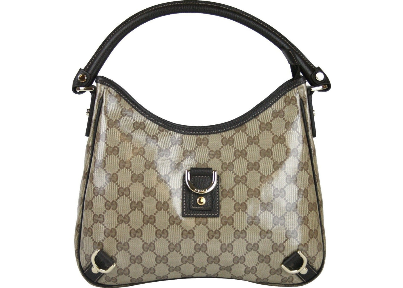 29ef74a8edc Amazon.com: Gucci Brown Crystal Canvas Abbey Tote Convertible Handbag  268641: http://amzn.to/1MzGoI3