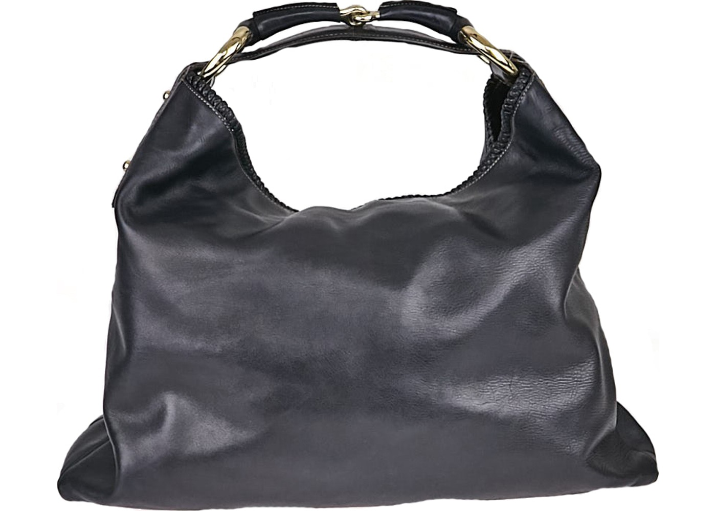 4bc3cf17a2a421 Sell. or Ask. View All Bids. Gucci Horsebit Hobo Large Black