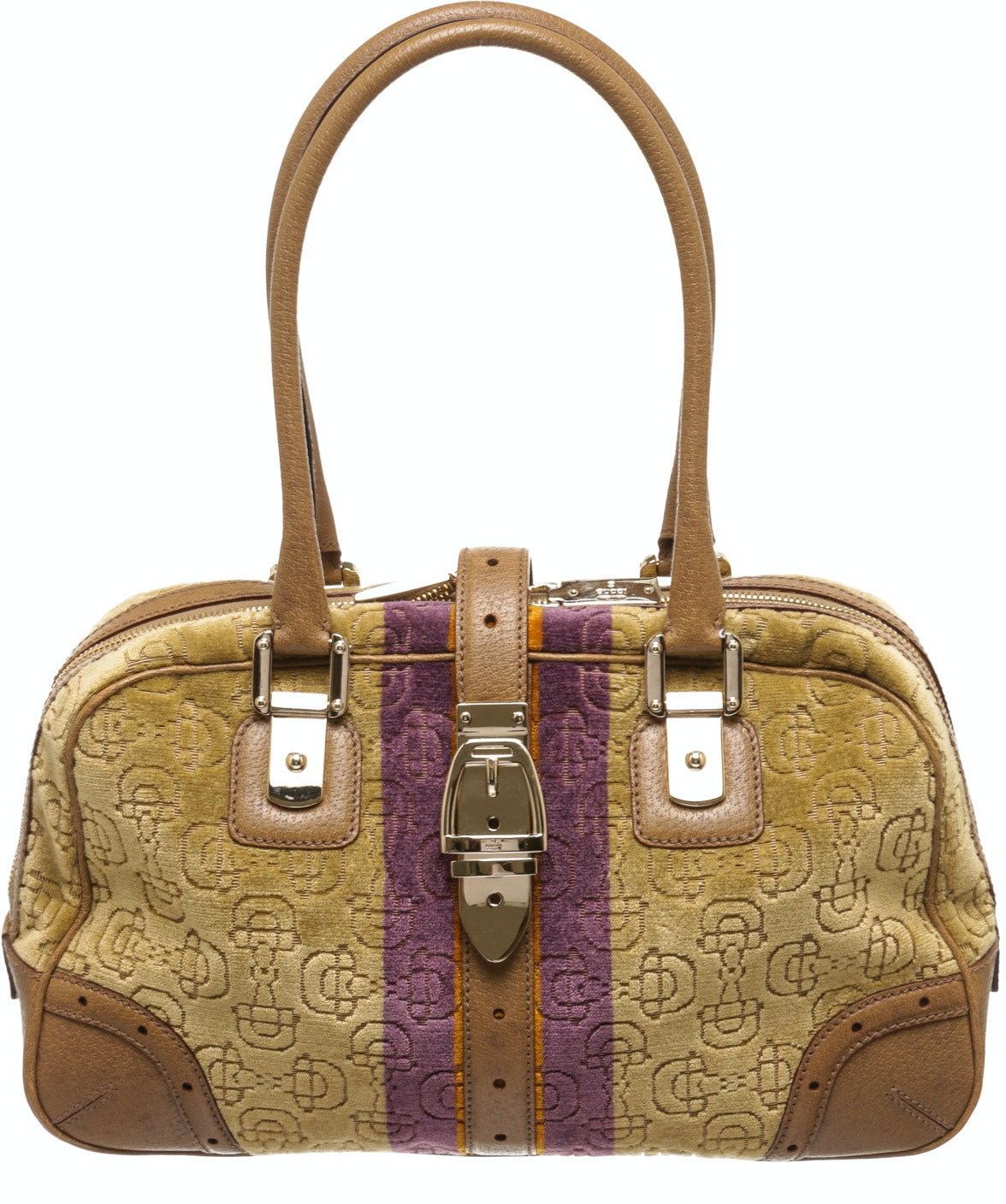 Gucci Horsebit Boston Horsebit Beige,Purple