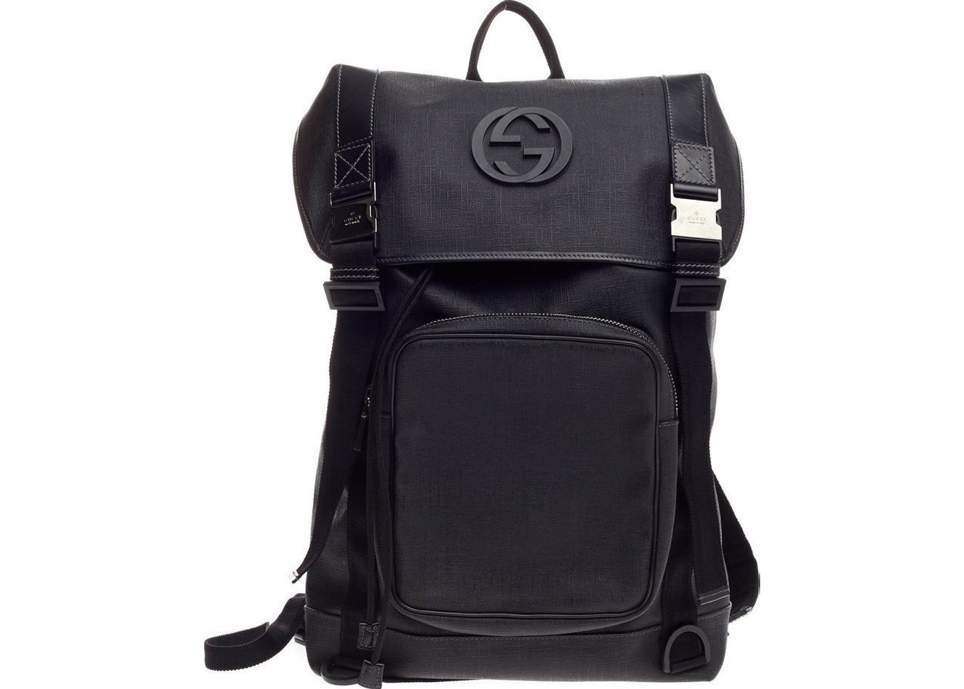 58635ccad5831c Gucci Interlocking G Backpack Large Black