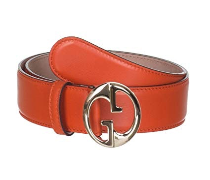 Gucci Interlocking G Belt Orange