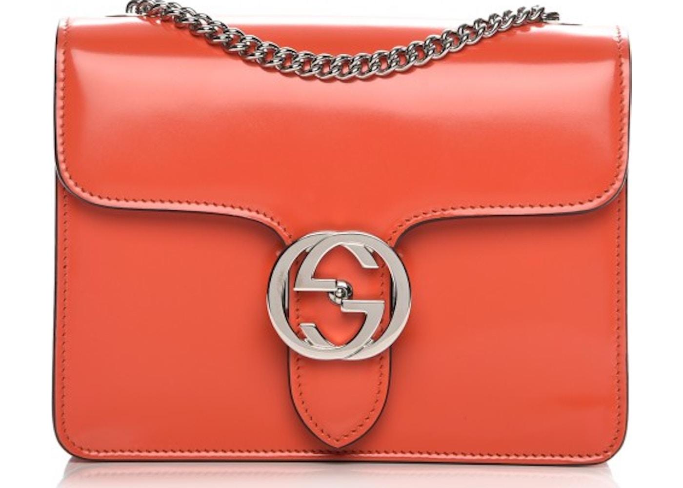 816c0d059c4c Gucci Interlocking Shoulder Bag GG Signature Interlocking Gucci ...