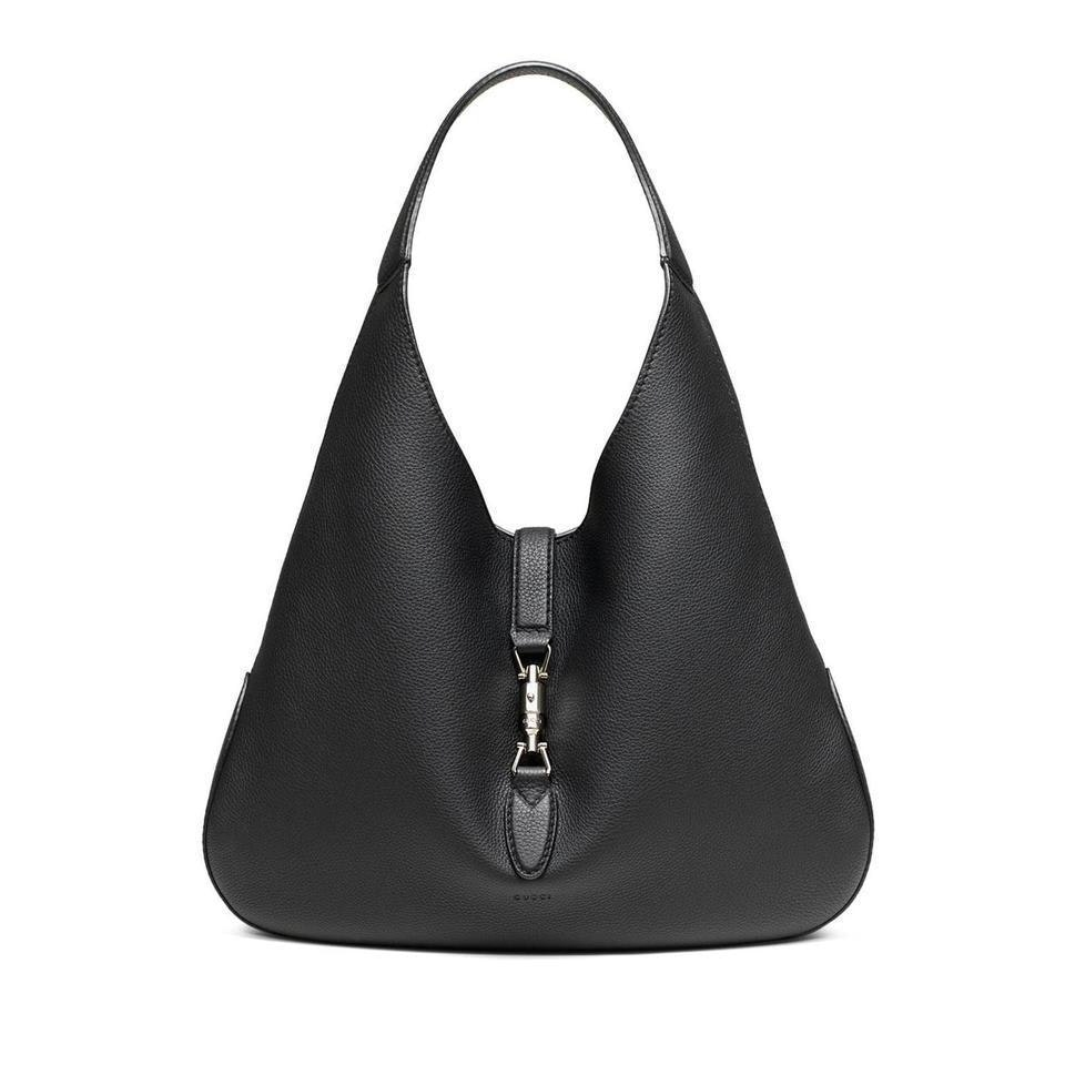 Gucci Jackie Hobo Bag With Pouch Black