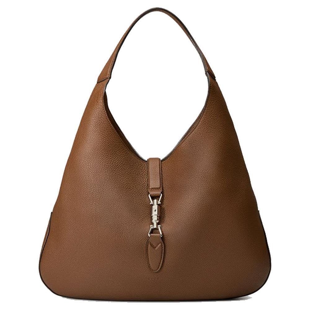 Gucci Jackie Hobo Bag With Pouch Brown