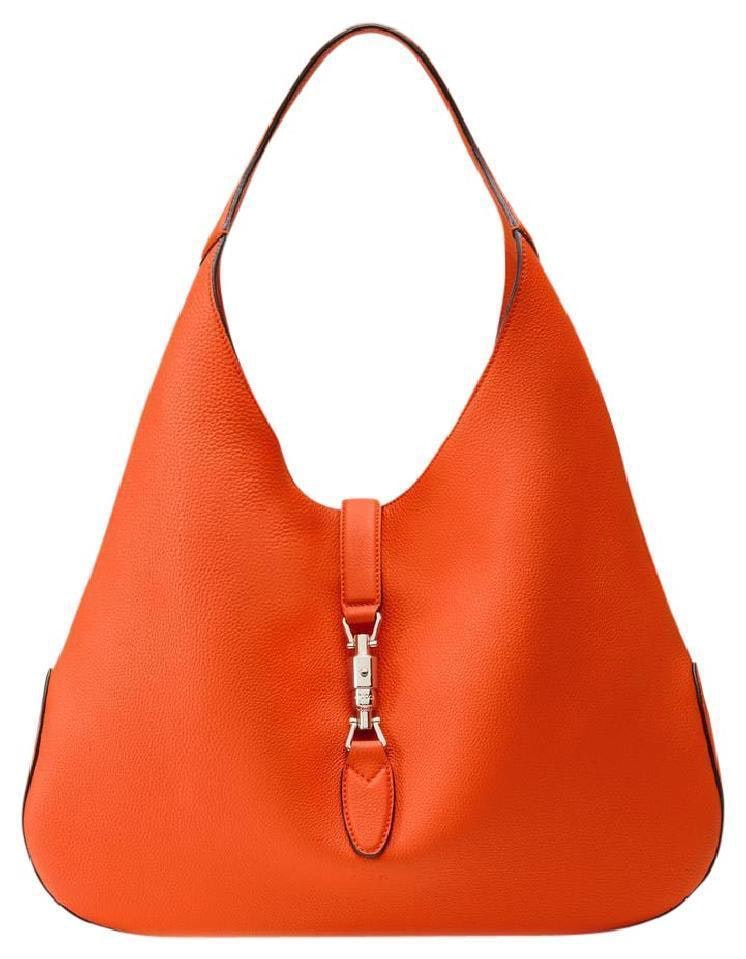 Gucci Jackie Hobo Bag With Pouch Orange