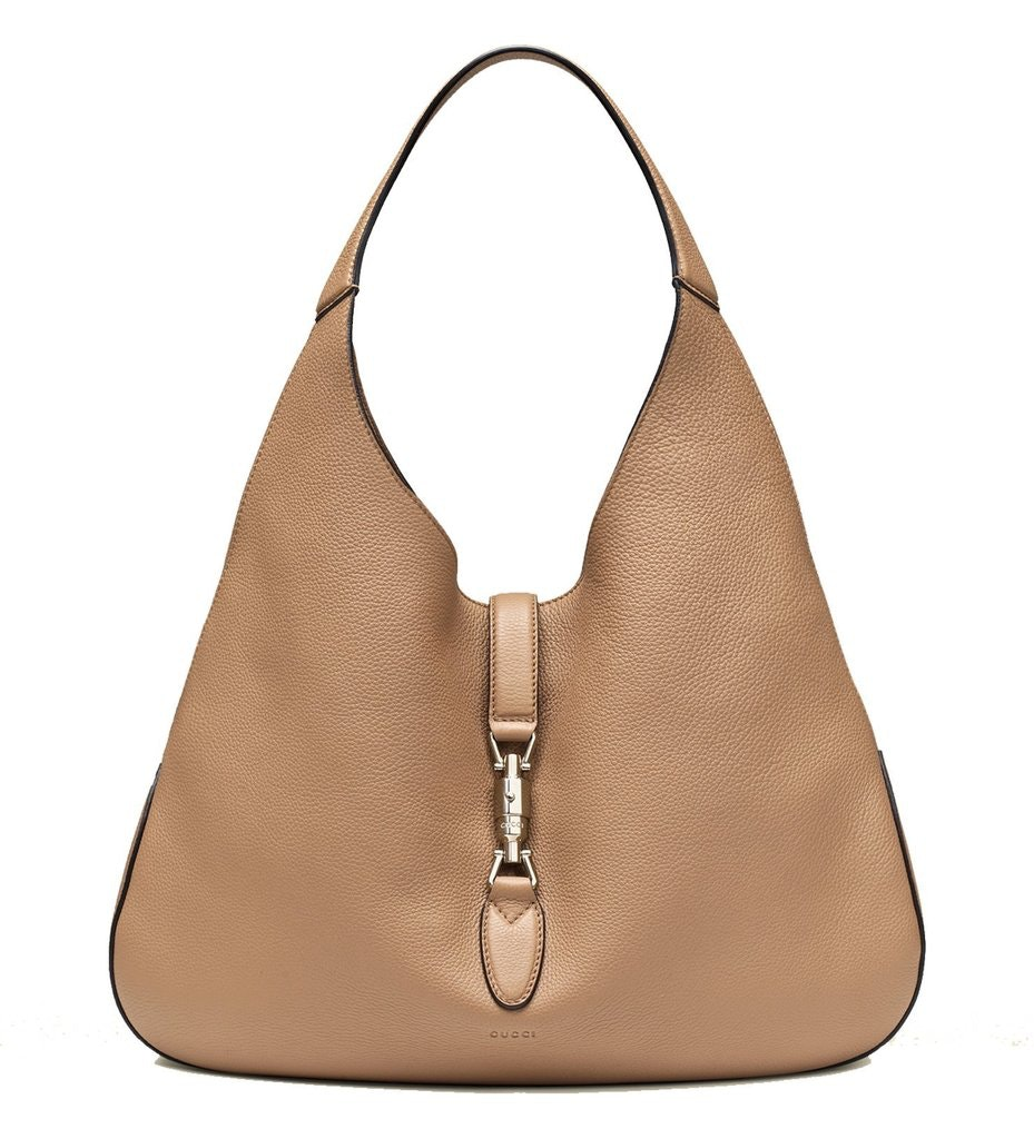 Gucci Jackie Hobo Bag Without Pouch Camel