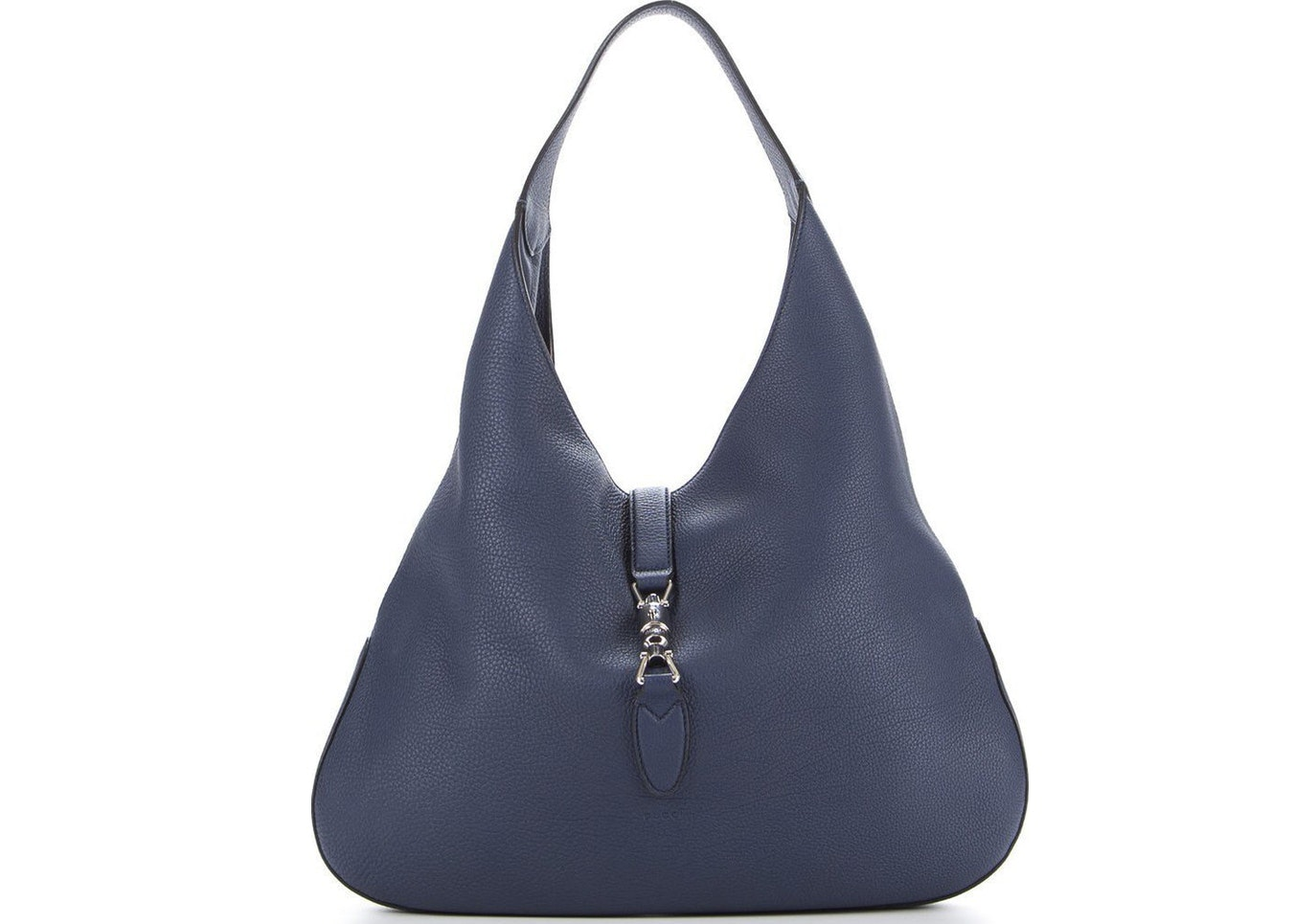 Gucci Jackie Hobo (With Pouch) Large Blue