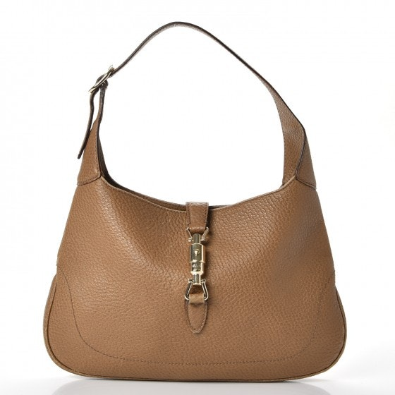 Gucci Jackie O Hobo Small Brown