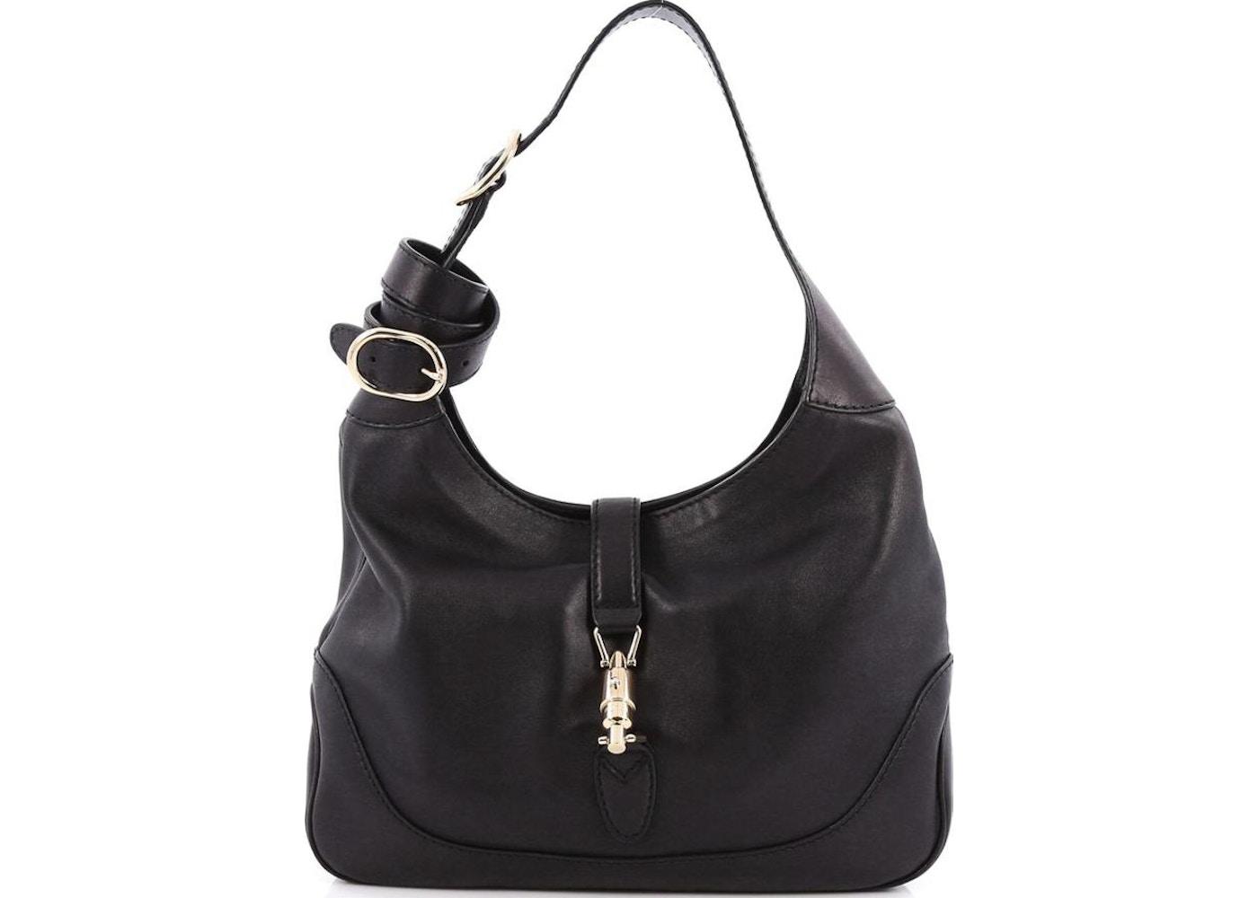 bb09e213a86 Gucci Jackie Shoulder Bag GG Medium Black. GG Medium Black