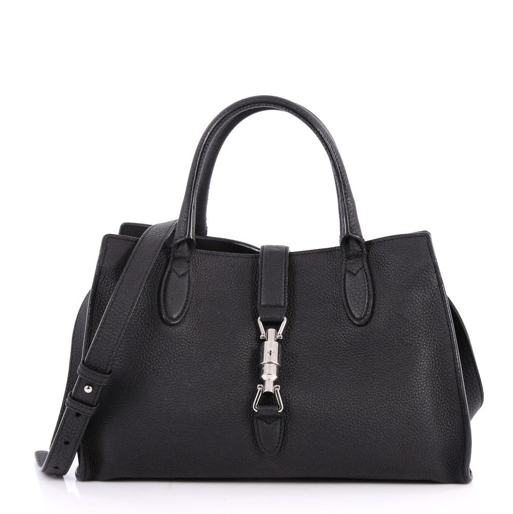 Gucci Jackie Soft Tote Small Black
