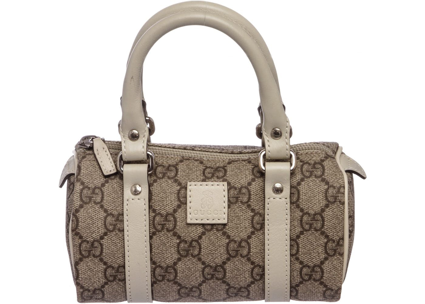 a48b632ddb Gucci Kids Collection Boston Monogram GG Supreme Mini Beige