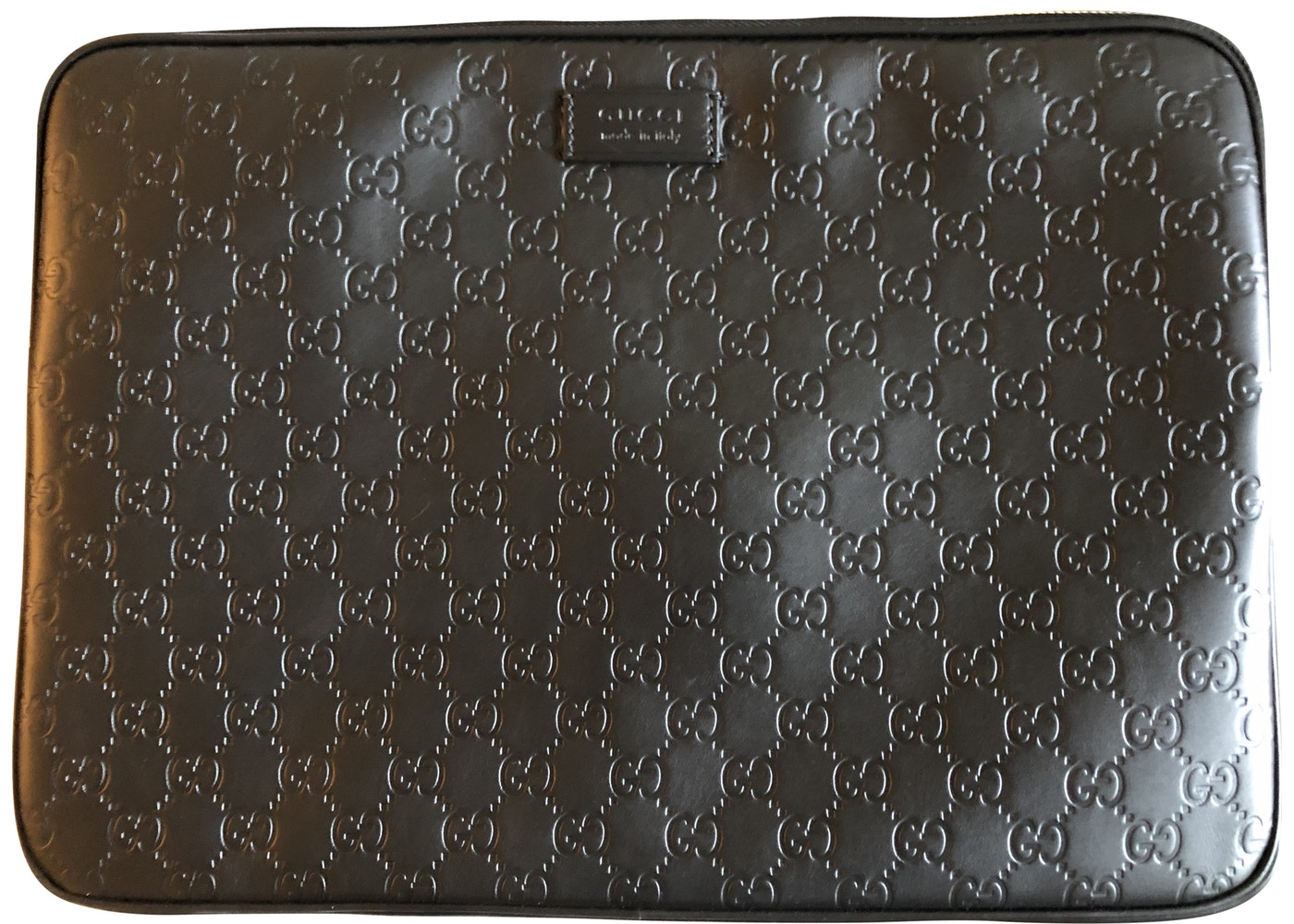 d295ed29c88a Gucci Laptop Case Guccissima 15IN Black. Guccissima 15IN Black