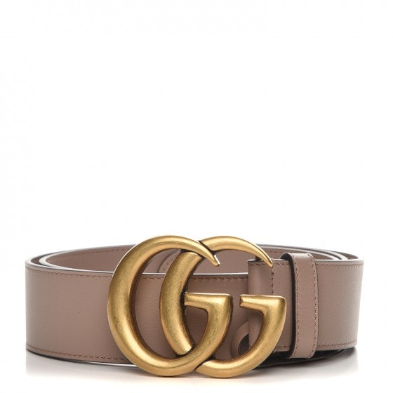 Gucci Marmont Belt Dusty Pink