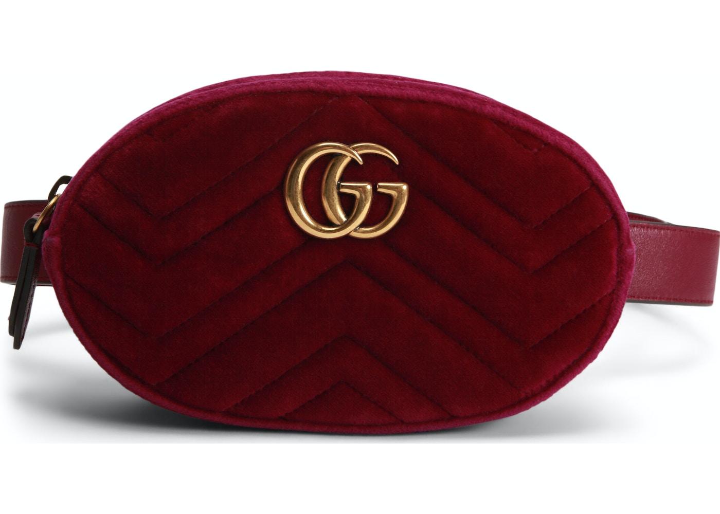 e838a201a82a Gucci Marmont Belt Bag Matelasse GG Fuchsia. Matelasse GG Fuchsia
