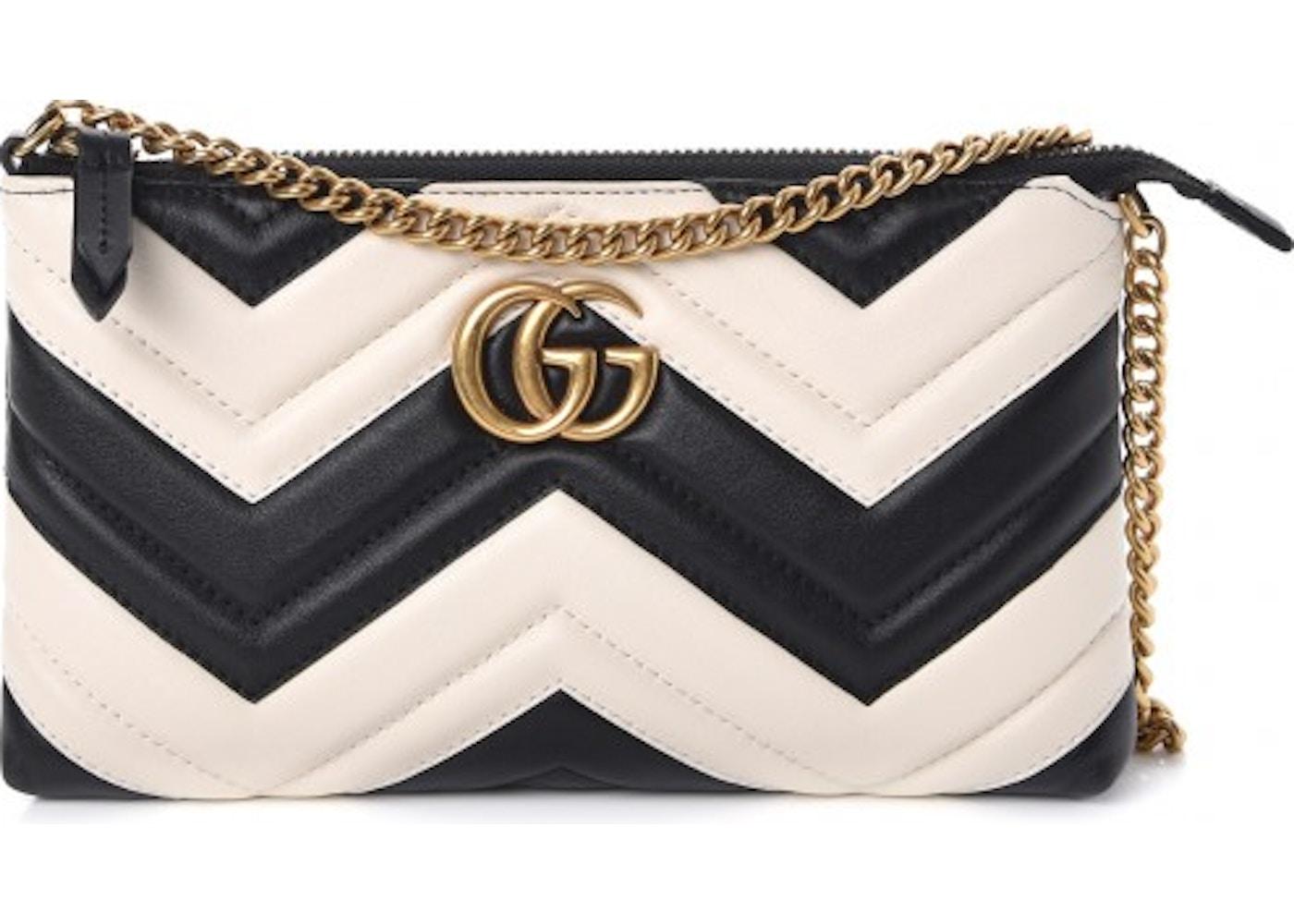 64af52fb0 Gucci Chain Bag Marmont Matelasse Mini Black/White. Matelasse Mini Black/ White