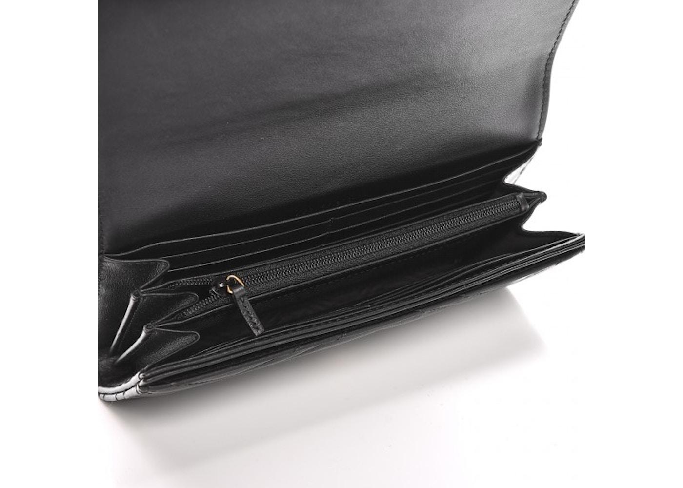 5f512a97b864 Gucci Continental Wallet Marmont Matelasse GG Black