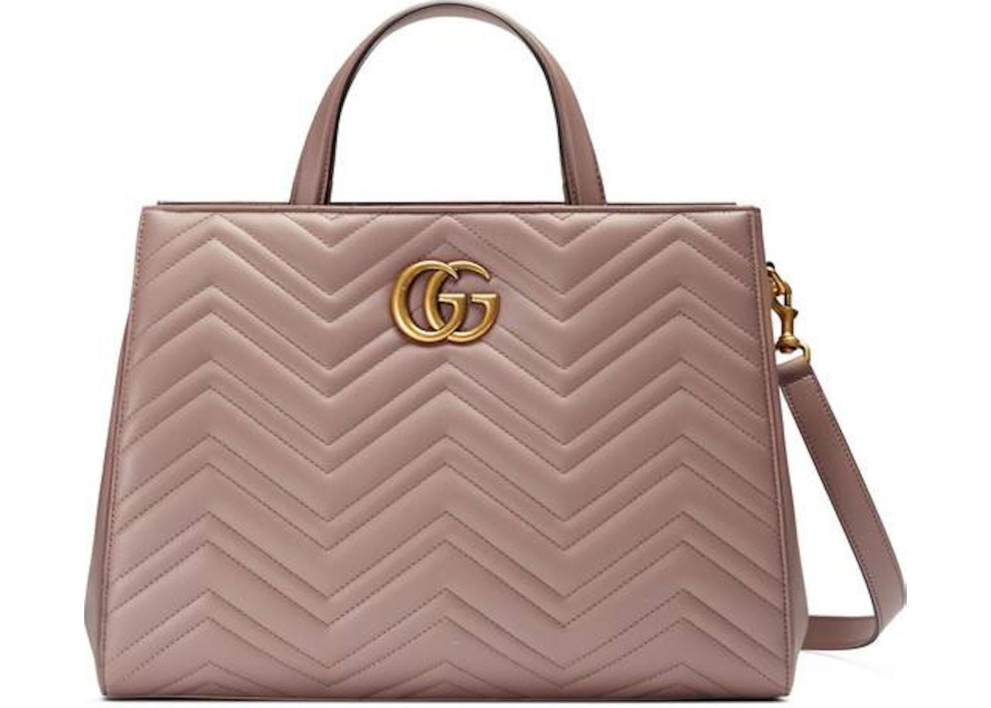 2196b735a01c Gucci Marmont Matelasse Tote Matelasse Medium Dusty Pink. Matelasse Medium  Dusty Pink