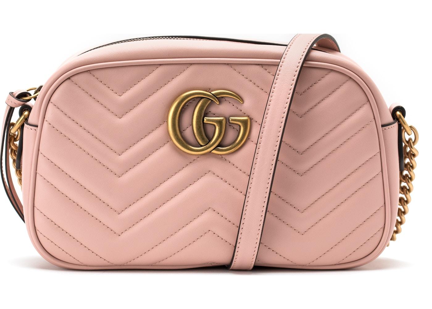 1d28d0bf Gucci Marmont Matelesse GG Mini Light Pink