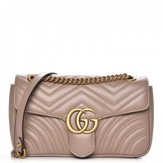 Gucci Marmont Matelasse GG Small Dusty Pink