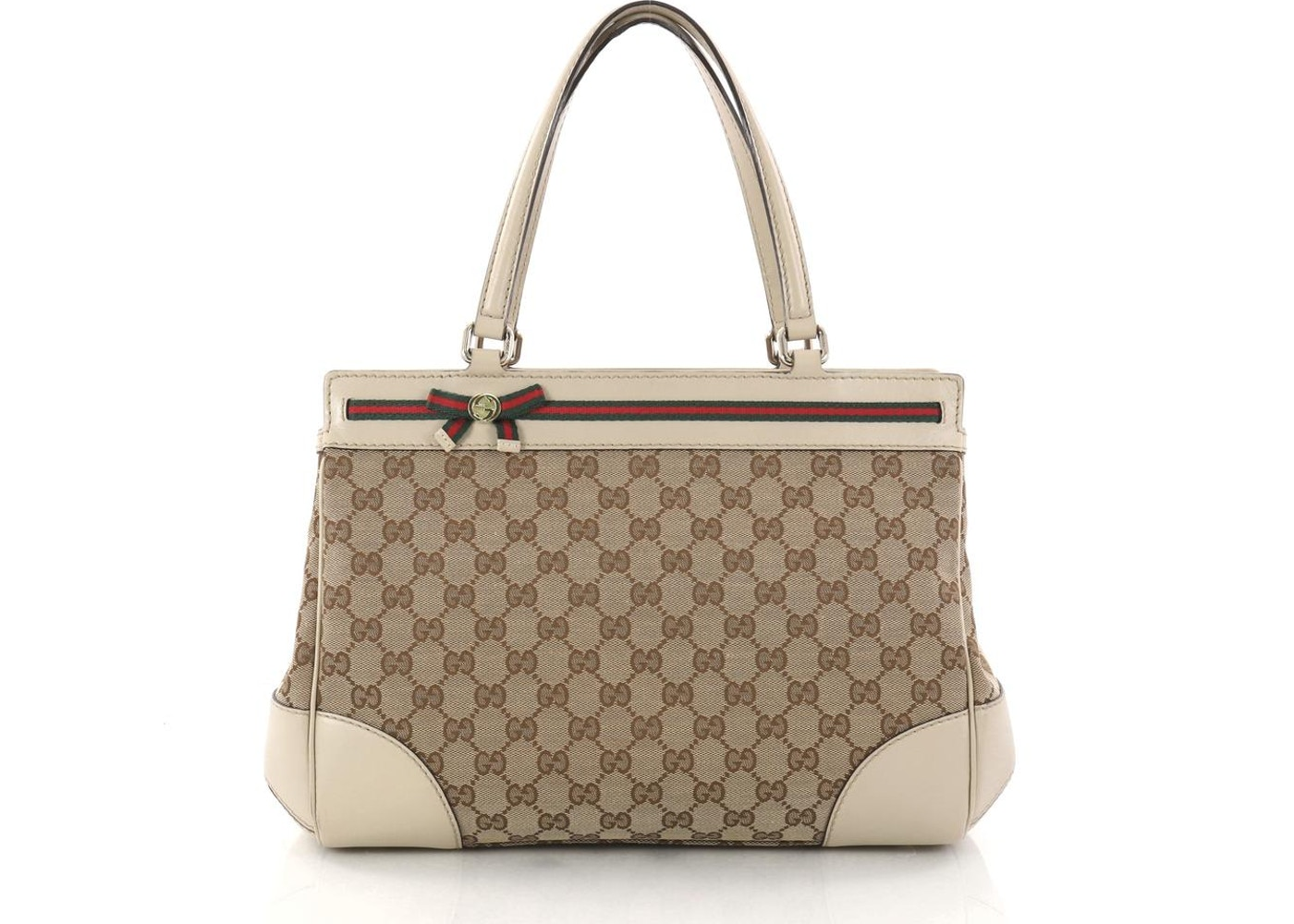 7393a7c8f1c Gucci Mayfair Tote Monogram GG Medium Off White. Monogram GG Medium Off  White