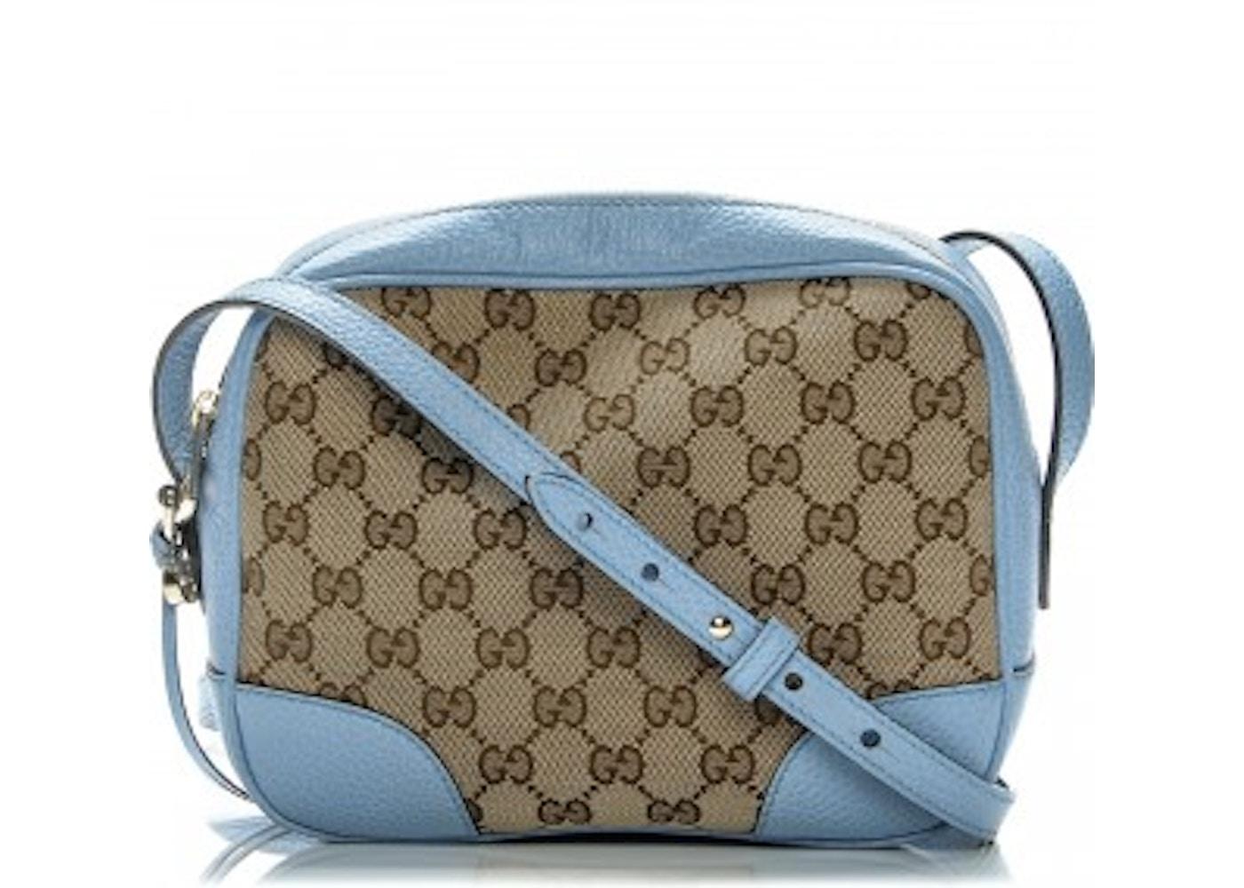 450839df19c Gucci Bree Messenger Mini GG Canvas Blue. Mini GG Canvas Blue