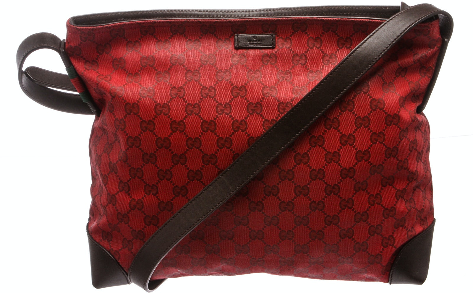 Gucci Messenger Monogram GG Red