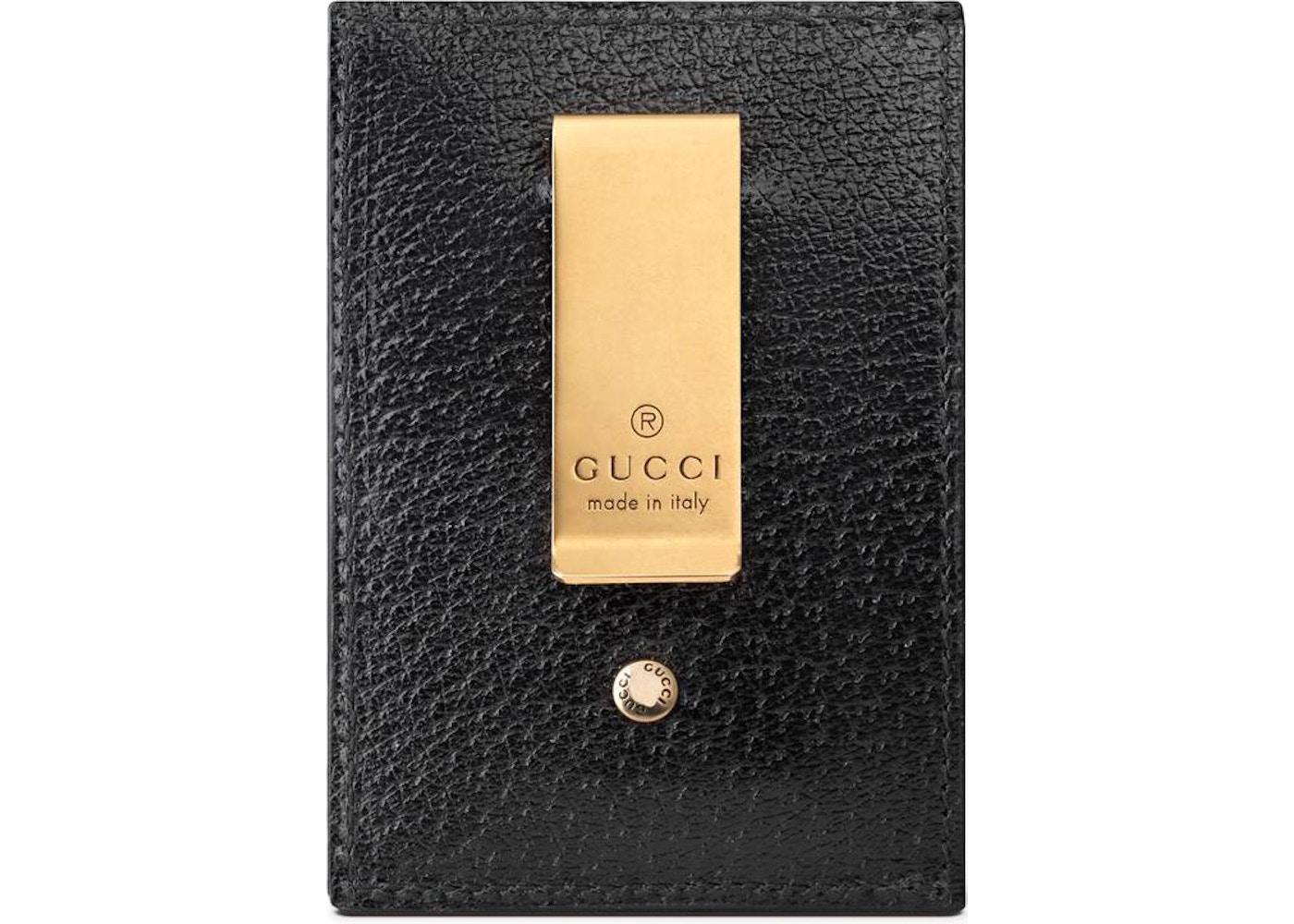 fde0397c8 Gucci Money Clip GG Marmont Black
