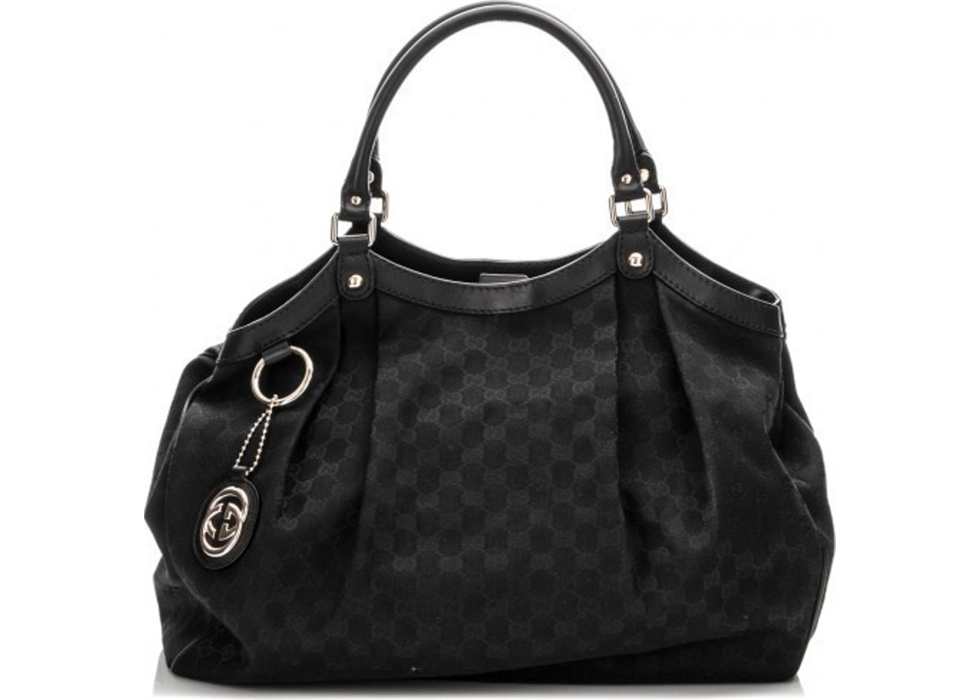 0fcbe6534464 Sell. or Ask. View All Bids. Gucci Sukey Tote GG Large Black