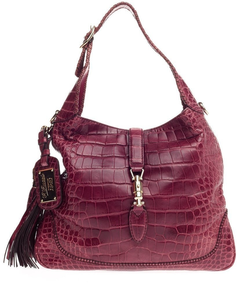 Gucci New Jackie Hobo 1921 Medium Red
