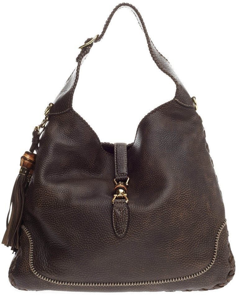 Gucci New Jackie Hobo Large Brown