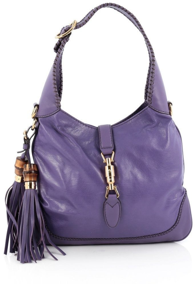 Gucci New Jackie Hobo Medium Purple