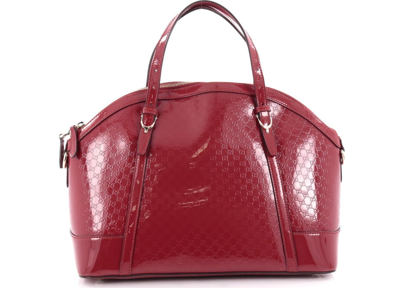 f7740e9083c2 Gucci Nice Top Handle Microguccissima Top Handle Medium Glossy ...