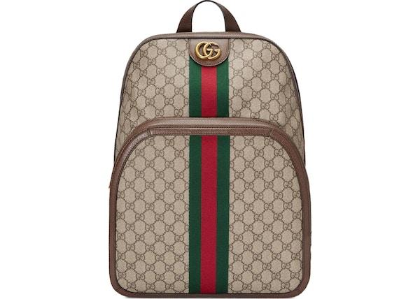 16eaeca0e Gucci Ophidia Backpack GG Supreme Medium Beige/Ebony