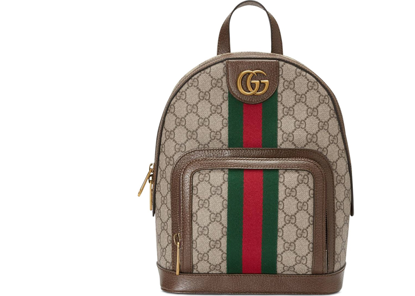 377275cf3b7334 Gucci Ophidia Backpack GG Supreme Small Beige/Ebony. GG Supreme Small Beige /Ebony