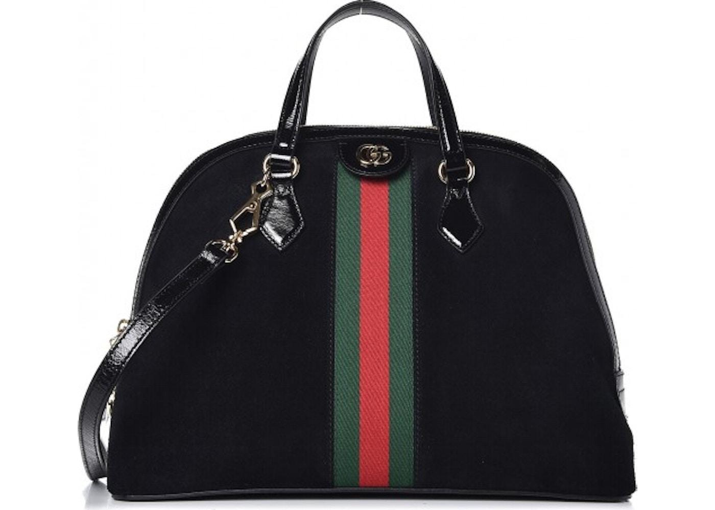 806684bd7a6 Gucci Ophidia Top Handle GG Web Medium Black. GG Web Medium Black