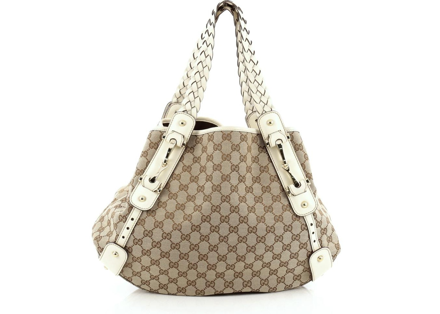 fee3de9a5 Gucci Pelham Shoulder GG Monogram Medium Brown/White. GG Monogram Medium  Brown/White