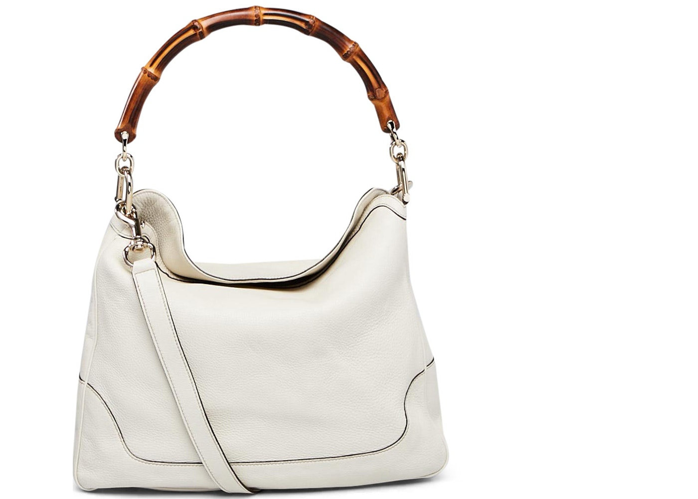259eed24c2062 Gucci Diana Shoulder Bag Bamboo Handle White. Bamboo Handle White